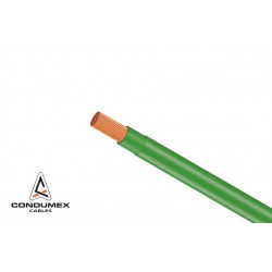 CABLE THHN 10 5.26mm VERDE...